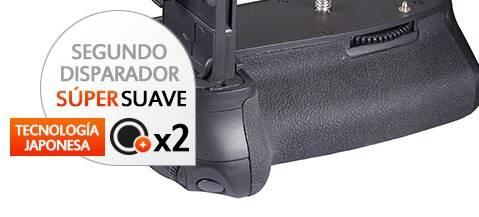 Kit de Empuñadura Gloxy GX-E9 + 2 Baterías LP-E6