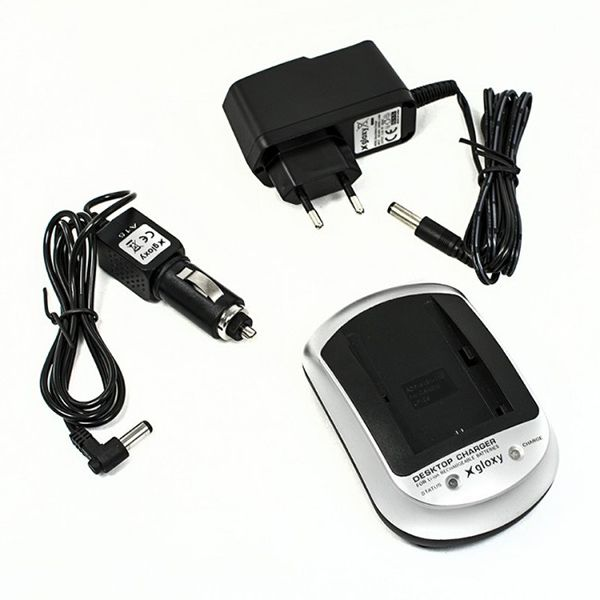 Canon CB-2LG Compatible Charger 2 in 1 Home and Car
