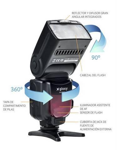 Flash Gloxy TTL HSS GX-F990N Nikon