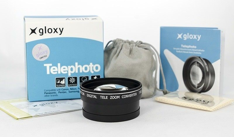 Lente Telefoto para Nikon D3100