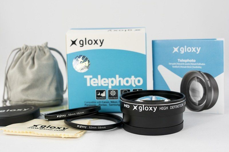 Lente Telefoto Teleobjetivo  para Canon Powershot G12