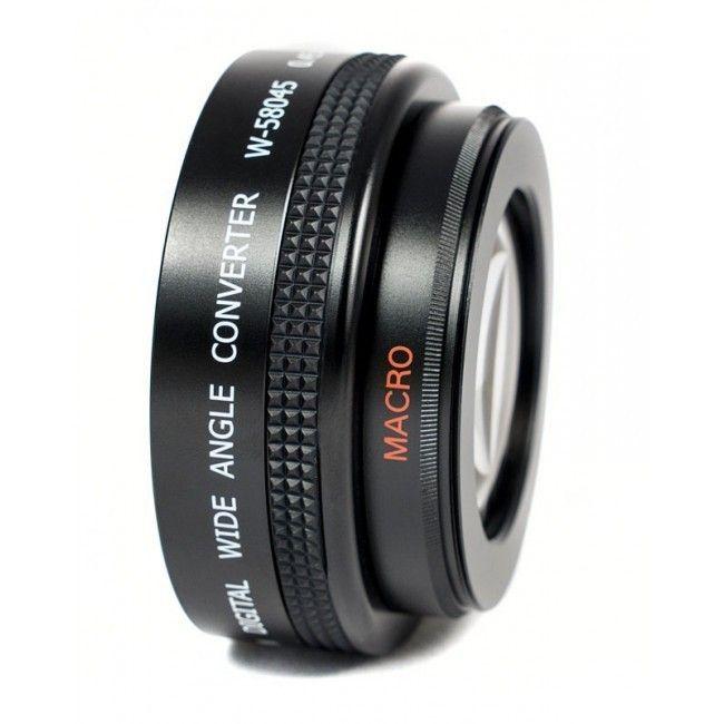 Gloxy Megakit Wide Angle, Macro and Telephoto 52mm