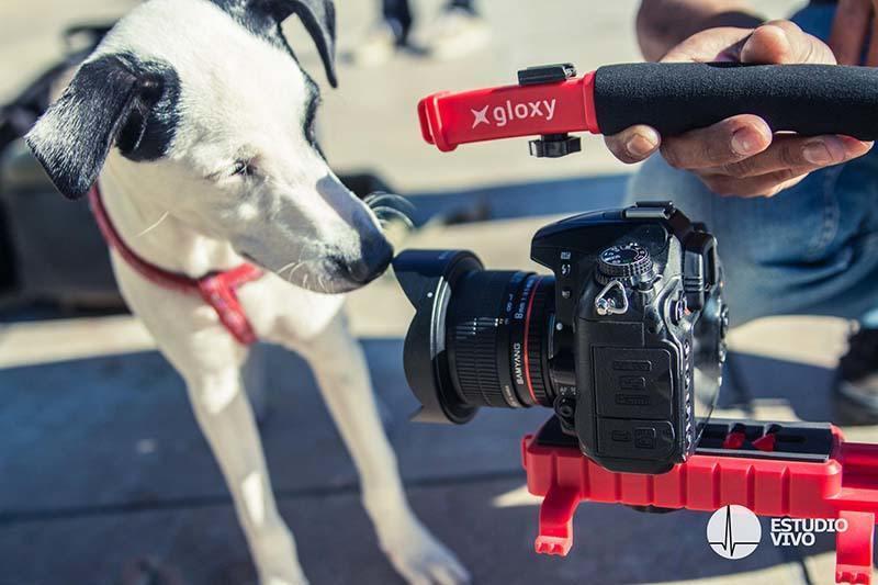Gloxy Movie Maker stabilizer for Pentax K-5