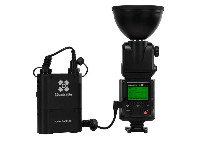 Quadralite Reporter 360 TTL Canon 1-Light Kit Completo