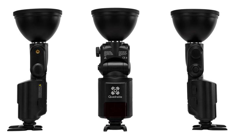 Quadralite Reporter 360 TTL Nikon 1-Light Kit Completo